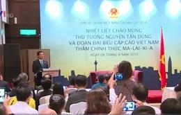 Thủ tướng gặp kiều bào tại Malaysia