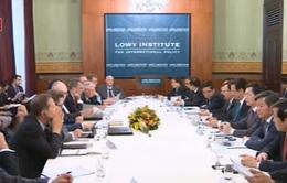 Thủ tướng phát biểu tại Viện nghiên cứu Lowy