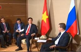 Thủ tướng Nguyễn Tấn Dũng hội kiến Thủ tướng Nga