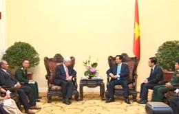 Thủ tướng Nguyễn Tấn Dũng tiếp Phó Tổng thư ký LHQ