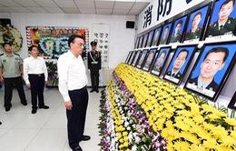 Thủ tướng Trung Quốc đến hiện trường vụ nổ Thiên Tân