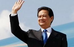 Thủ tướng Nguyễn Tấn Dũng tới Singapore