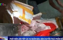 """Phát hiện 2 tấn thịt lợn """"bẩn"""" tại TP.HCM"""