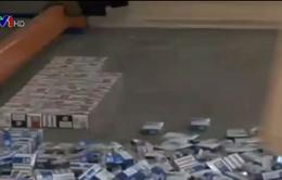 Ukraine tăng cường chống buôn lậu thuốc lá ở biên giới
