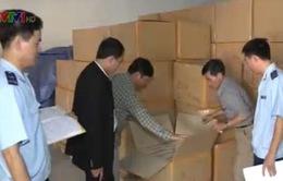 Bắt giữ 240.000 bao thuốc lá lậu tại Hải Phòng