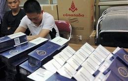 Bắt giữ 7.500 bao thuốc lá lậu trên đường 'tuồn' về Thủ đô