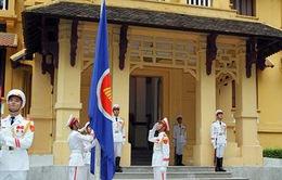 Long trọng Lễ thượng cờ ASEAN tại Hà Nội