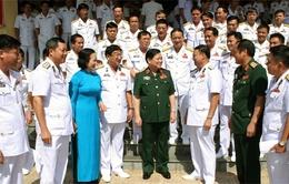 Đại hội Đảng bộ quân chủng Hải quân lần thứ 12