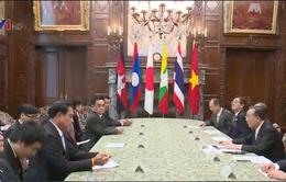 Chủ tịch Thượng viện Nhật Bản tiếp các nhà lãnh đạo Mekong