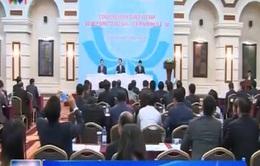 Thủ tướng gặp cộng đồng DN Việt Namtại Nga, Belarus và Kazakhstan