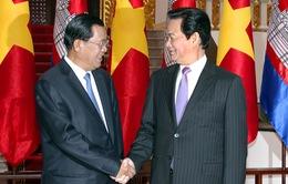 Thủ tướng sẽ dự lễ khánh thành cột mốc biên giới với Campuchia