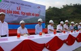 Chính thức đóng cống dẫn dòng tích nước thủy điện Lai Châu