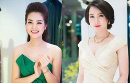 MC Thụy Vân và Minh Hà nổi bật với vẻ đẹp gợi cảm