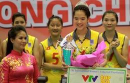 11 nữ VĐV bóng chuyền xinh đẹp tranh ngôi Hoa khôi VTV Cup 2015