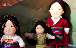 Độc đáo búp bê thủ công Tây Tạng