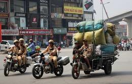 Hà Nội ra quân xử lý xe ba bánh 'giả danh' xe thương binh