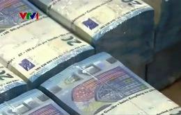 Đồng Euro mất giá trước thềm cuộc họp quan trọng của ECB