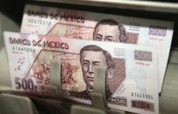 Đồng Peso Mexico mất giá kỷ lục