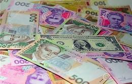 Ukraine: Đồng nội tệ mất giá kỷ lục, người dân đổ xô đi mua USD