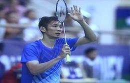 Giải cầu lông Việt Nam mở rộng 2015: Tiến Minh dừng bước