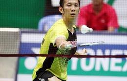 Tiến Minh gặp khó ở Giải cầu lông quốc tế Việt Nam mở rộng 2015