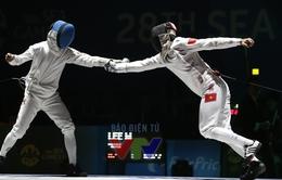 SEA Games 28: Tiến Nhật giành quyền vào chung kết môn đấu kiếm