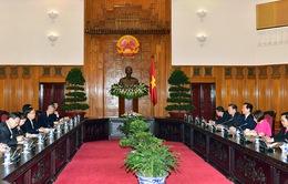 Thủ tướng tiếp Bộ trưởng Bộ An ninh quốc gia Trung Quốc