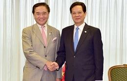 Thủ tướng Nguyễn Tấn Dũng tiếp Thống đốc tỉnh Kanagawa