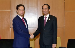 Thủ tướng Nguyễn Tấn Dũng gặp Tổng thống Indonesia