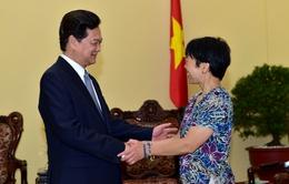 Thủ tướng tiếp Giáo sư thiên văn học Lưu Lệ Hằng