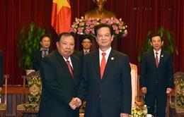 Thủ tướng tiếp Đoàn đại biểu cấp cao Lào, Campuchia, Cuba