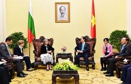 Thủ tướng Nguyễn Tấn Dũng tiếp Phó Tổng thống Bulgaria