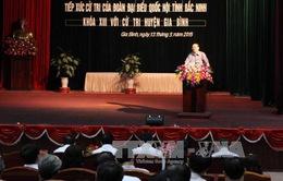 Đồng chí Tô Huy Rứa: Quốc hội cần sự quan tâm, ủng hộ, góp ý kịp thời của cử tri