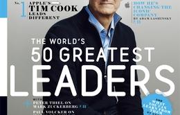 Tim Cook tuyên bố làm từ thiện toàn bộ tài sản