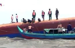 Chìm tàu ở TP.HCM: Tập trung tìm kiếm các nạn nhân