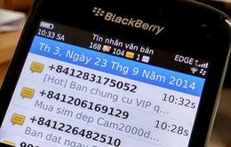 'Bộ TT - TT chưa kiểm soát tốt nguồn phát tán tin nhắn rác'