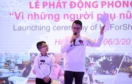 Hoàng Bách, Hà Trần là đại sứ của chiến dịch HeforShe