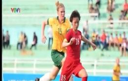Đội tuyển nữ Việt Nam thua đậm tuyển nữ Australia ở trận đấu tập