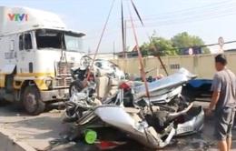 Vụ tai nạn làm 5 người chết: Có thể xe container gặp sự cố vềkỹ thuật
