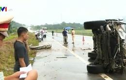 Tai nạn liên tiếp trên cao tốc Nội Bài - Lào Cai, 1 người tử vong