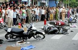 Số vụ tai nạn giao thông tại Hà Nội giảm so với cùng kỳ 2014