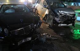 Hải Dương:Tai nạn liên hoàn, cả gia đình nhập viện