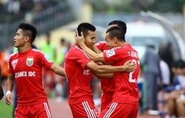 V-League 2015: B.Bình Dương vững vàng ngôi đầu