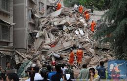 Trung Quốc: Sập tòa nhà 9 tầng tại tỉnh Quý Châu