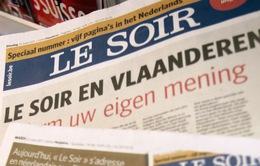 Bỉ: Tin tặc tấn công tòa soạn báo danh tiếng Le Soir