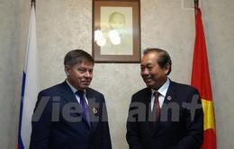 Tăng cường hợp tác về ngành Tòa án Việt Nam - Nga