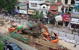 Thi công trở lại tuyến đường sắt trên cao đoạnNhổn-Ga Hà Nội