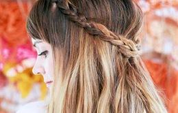 10 kiểu tóc buộc thấp đẹp mắt