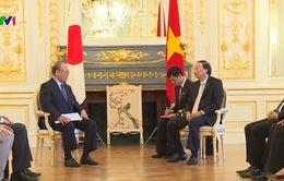 Đồng chí Tô Huy Rứa tiếp Cố vấn đặc biệt Liên minh nghị sĩ hữu nghị Việt - Nhật