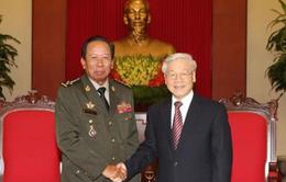 Tổng Bí thư Nguyễn Phú Trọng tiếp Bộ trưởng Bộ Quốc phòng Campuchia